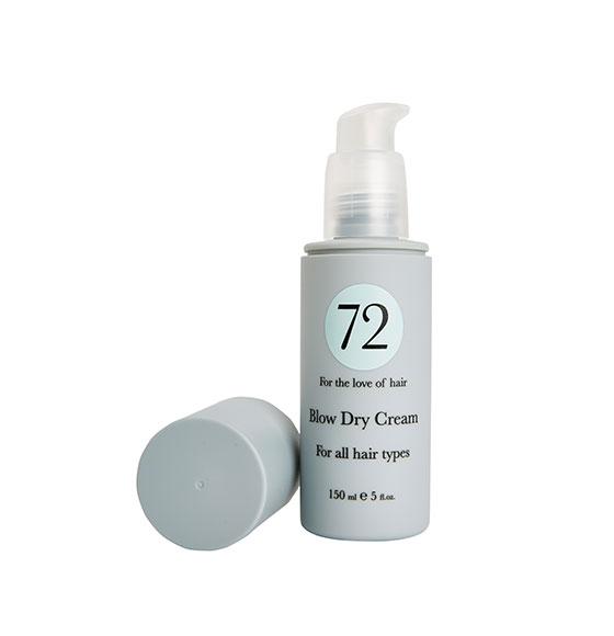 72 Hair Blow Dry Cream 150ml