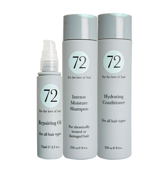 72 Hair Moisturising & Hydrating Bundle