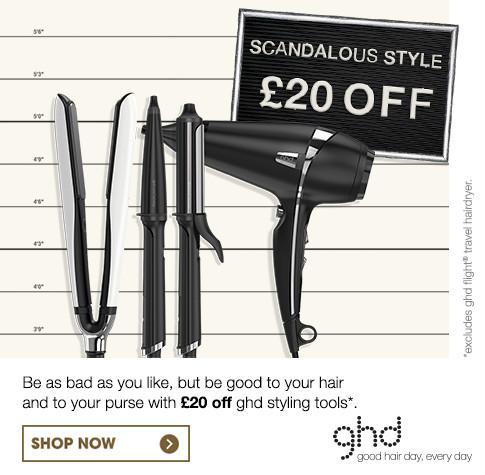 ghd £20 Off Sale - Dec 16'