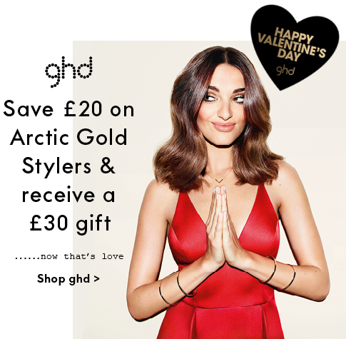 ghd £20 off Arctic Gold