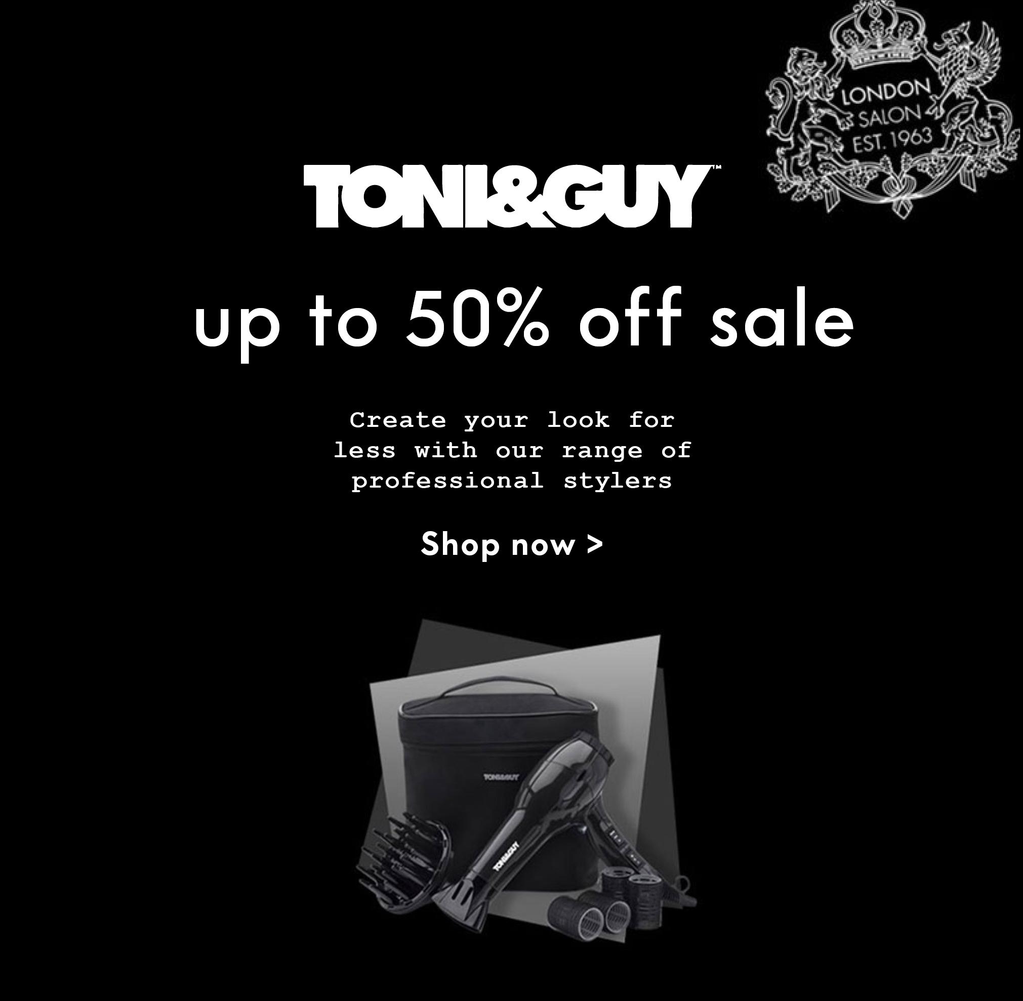 TONI&GUY electrical sale