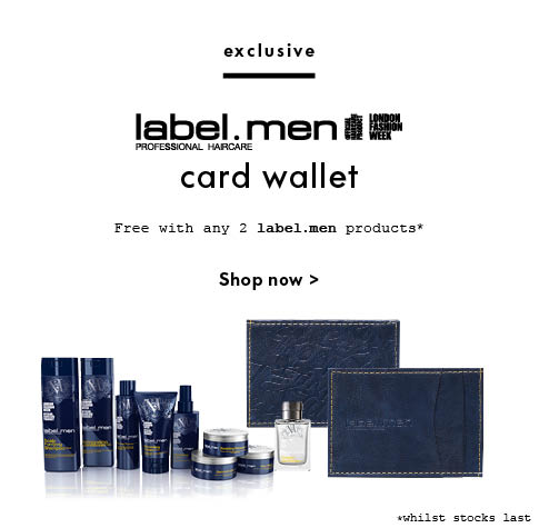 label.men wallet GWP