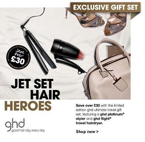 ghd jet set hair heroes