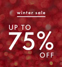 Winter Sale - up to 75% off