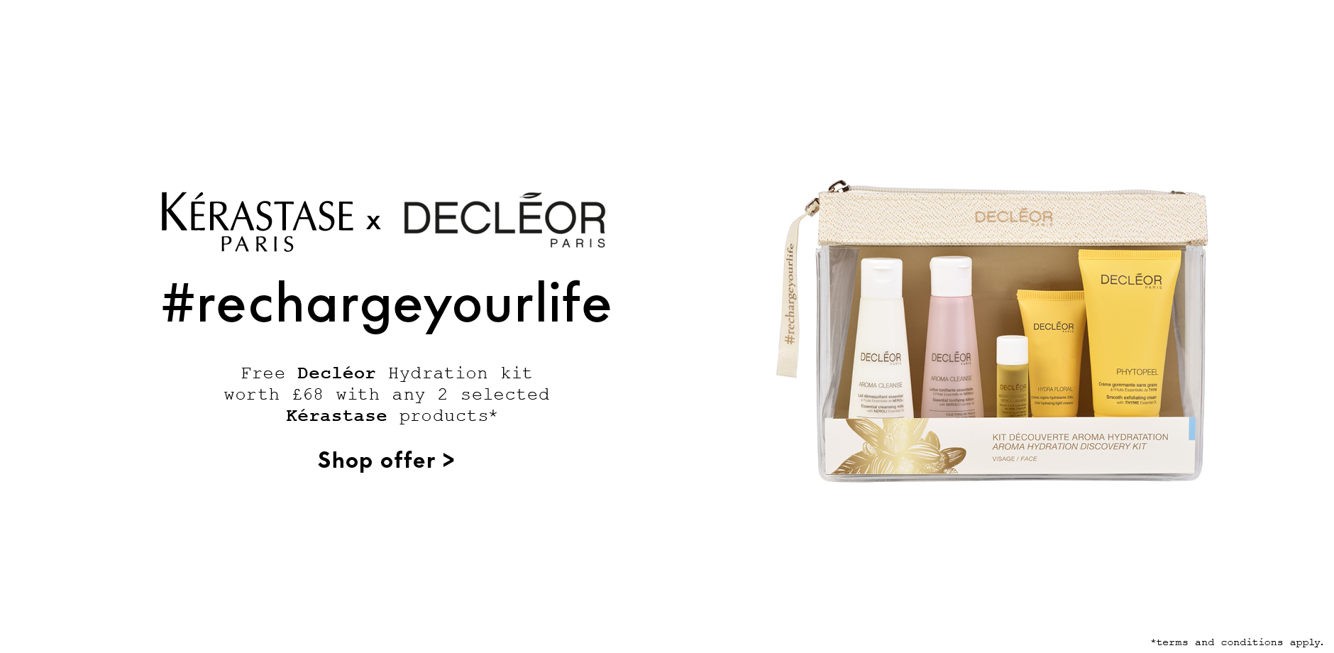 Kerastase Decleor Kit