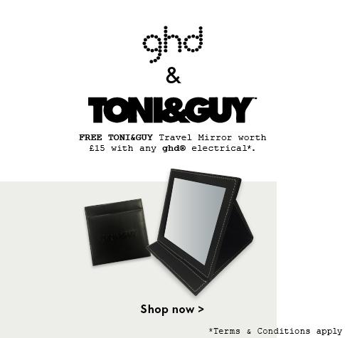 ghd x TONI&GUY Travel Mirror