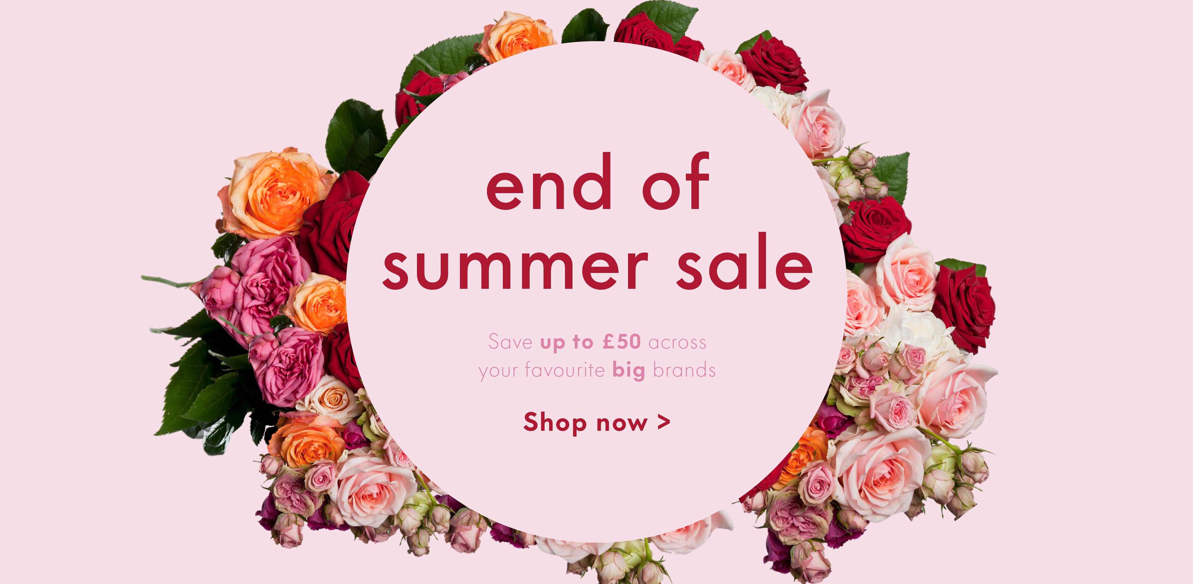 Summer Sale Ends