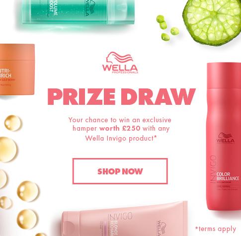 Wella Prize Draw