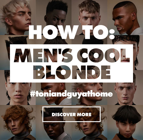 men's cool blonde