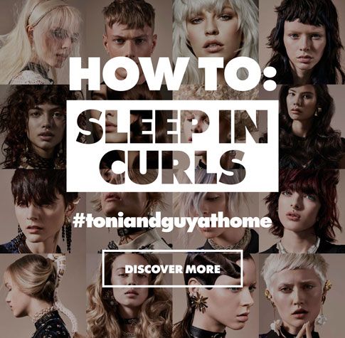 sleep in curls