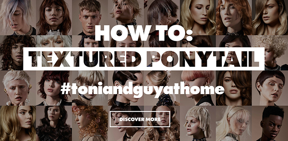 Textured Ponytail How To