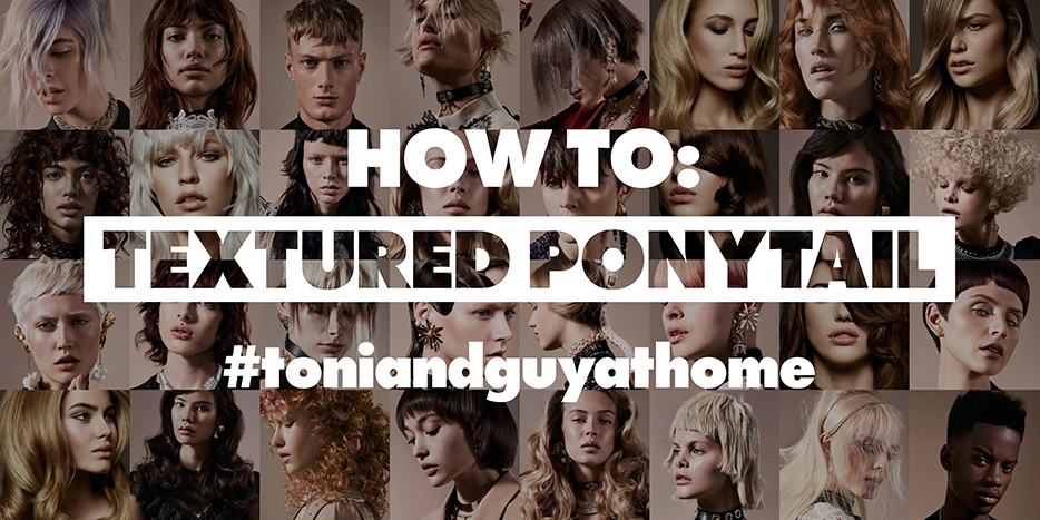 How to: Textured Ponytail.