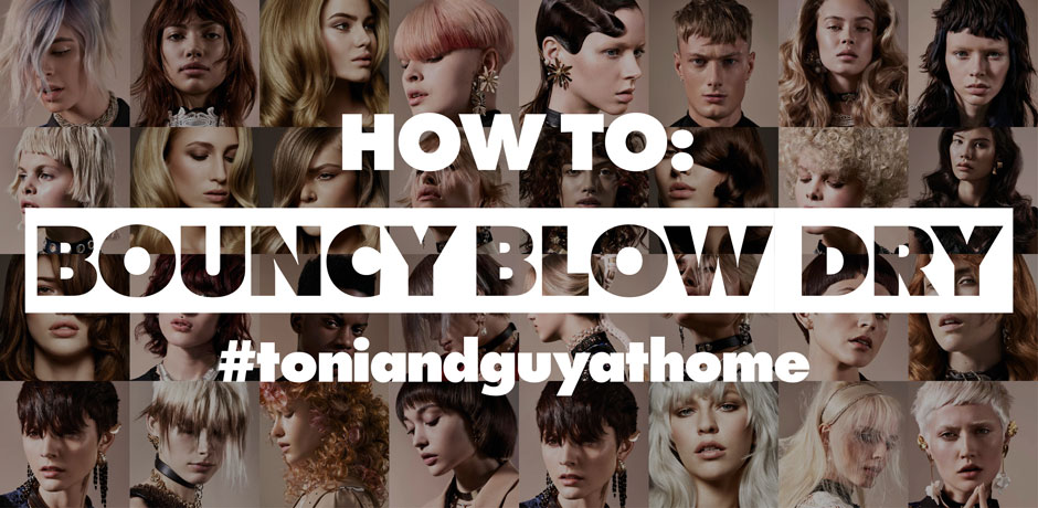 How to: Bouncy Blow Dry.