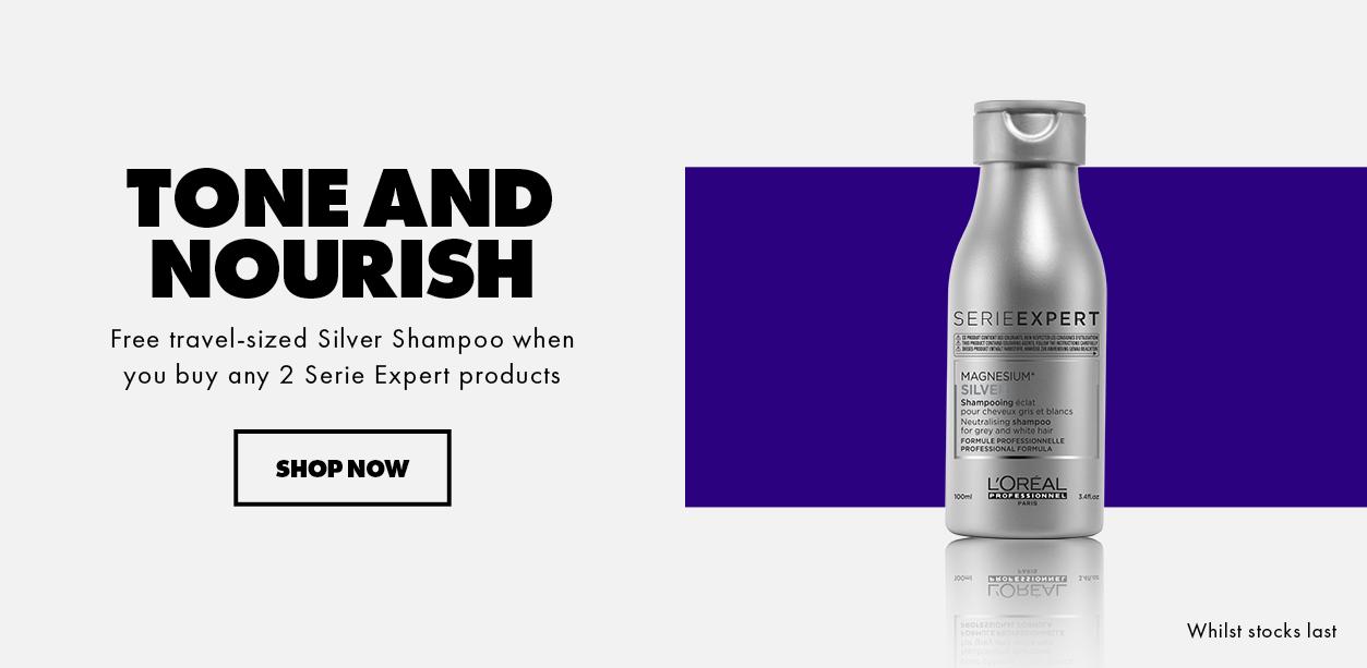 Serie Expert Silver Shampoo