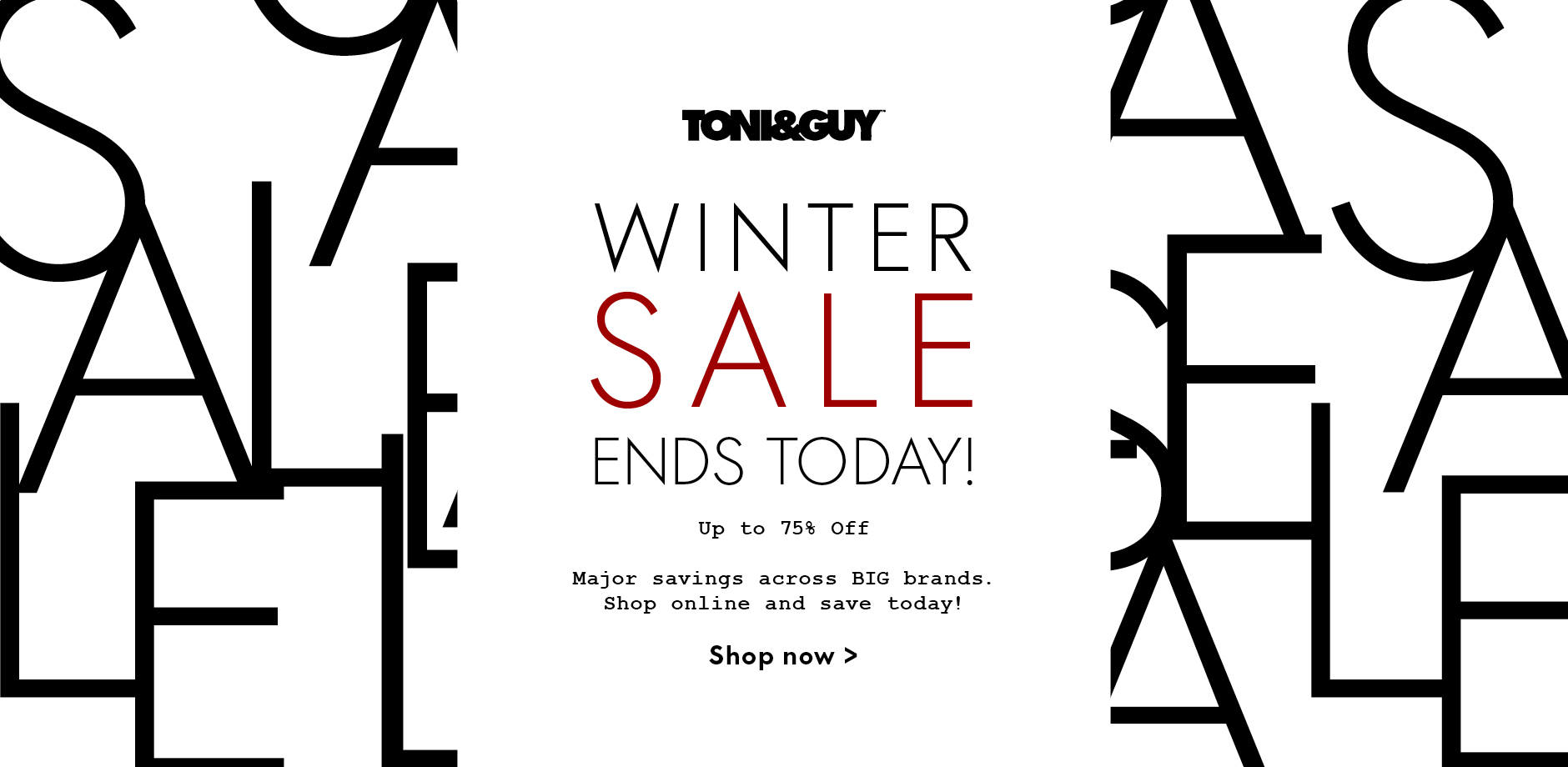 Winter Sale 2018 ends today