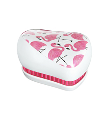 Tangle Teezer Compact Skinny Dip Flamingo
