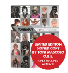 TONI&GUY Look Book Synchronise Collection 2004/05 (signed Limited Edition)