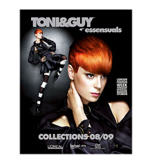 TONI&GUY Look Book Flux Collection 2008/09