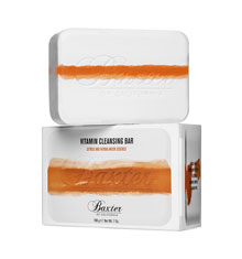 Baxter Vitamin Cleansing Bar - Citrus & Herbal Musk