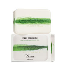 Baxter Vitamin Cleansing Bar - Italian Lime & Pomegranate