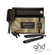 ghd Black Platinum+ Styler Gift Set