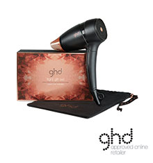 ghd® Copper Luxe Travel Hairdryer Gift Set