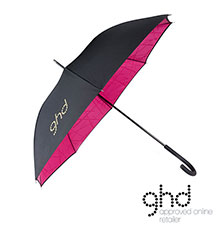 ghd® Limited Edition Electric Pink Umbrella