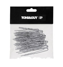 TONI&GUY U-Pin Wavy Silver 60mm (Pack of 40)