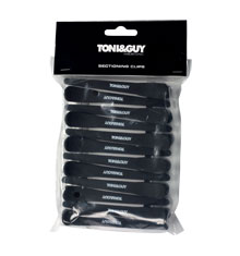 TONI&GUY Soft-Touch Sectioning Clips (Set of 12)