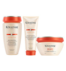 Kérastase Nutritive Bain Magistral, Fondant & Masque Bundle