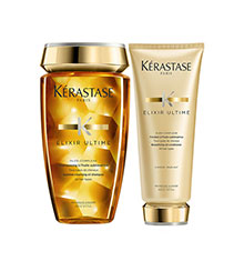 Kérastase Elixir Ultime Bain & Beautifying Oil Conditioner Bundle