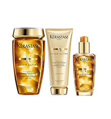 Kérastase Elixir Ultime Original, Elixir Ultime Bain & Beautifying Oil Conditioner Bundle