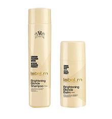 label.m Brightening Blonde Shampoo & Balm