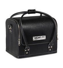 label.m Large Black Stylist Case