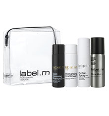 label.m Travel Pack: Cleanse & Nourish