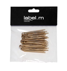 label.m Twisted U-Pin Gold 50mm (Pack of 40)
