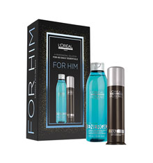 L'Oréal Professionnel Men's Homme Duo Gift Set