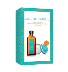 Moroccanoil Oil Treatment 100ml Candle Gift Set
