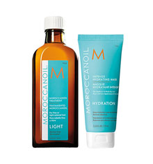 Moroccanoil Light Treatment With Mask