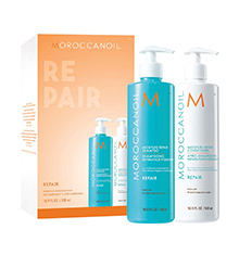 Moroccanoil Moisture Repair Shampoo And Conditioner Duo 500ml