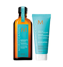 Moroccanoil Treatment 125ml With Hydrating Mask (75ml)