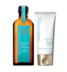 Moroccanoil Treatment 125ml With Hand Cream
