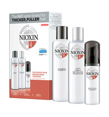 Nioxin 4 Trial Kit Gift Set