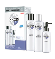 Nioxin 5 Trial Kit Gift Set