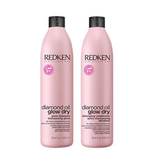 Redken Diamond Oil 500ml Duo