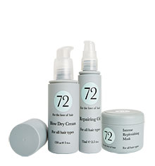72 Hair Replenishing & Repairing Bundle