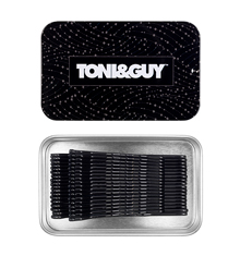TONI&GUY Bobby Pin Combo - Black (36 Pieces)