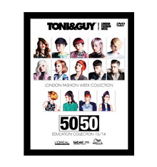 TONI&GUY 50/50 Collection 2013/14 DVD