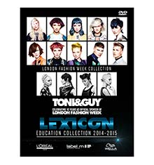 TONI&GUY DVD Lexicon Education Collection 2014/15