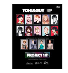 TONI&GUY Project 10 Collection 2010/11 DVD